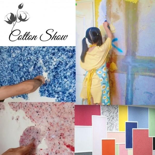 [구매평] 다빈치스타일 코튼쇼 친환경 목화솜 페인트 3가지 색상 [89,400원상당]