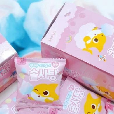 [구매평][배송] 앙팡드봉봉 핑크퐁 솜사탕 이미지