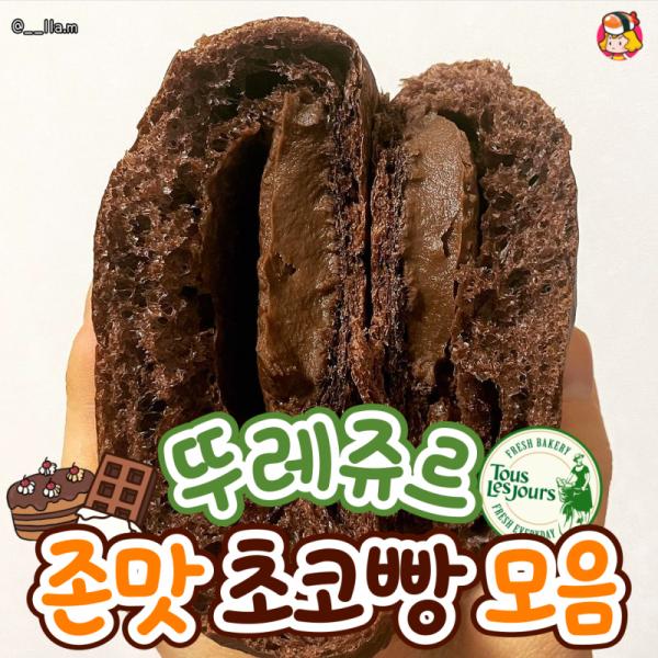 뚜레쥬르 존맛 초코빵 모음