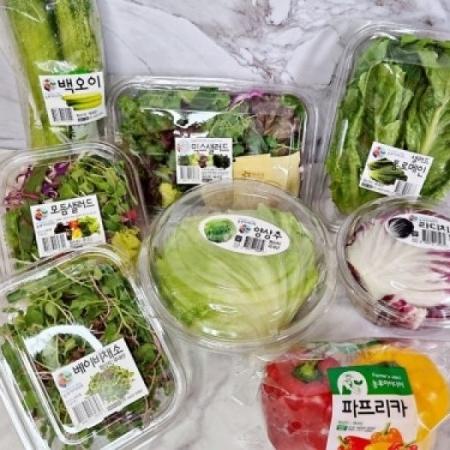 [배송 페이백] 농부아이디어 샐러드꾸러미