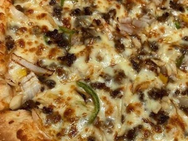 [서울 관악]  부드러운 토핑이 올라와있는 피자