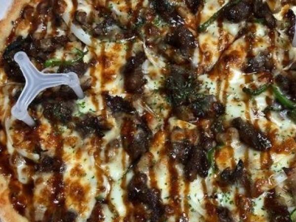 [광주 광산구]  고기에 새우까지 들어간 피자라니! 피자