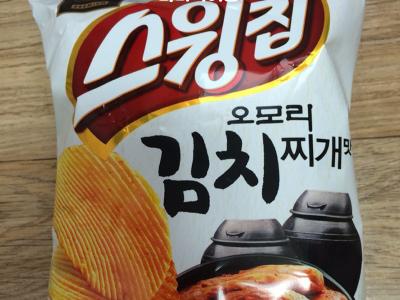스윙칩 오모리 김치찌개맛