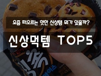 신상먹템 TOP5