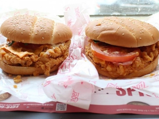 이번에도 KFC 신메뉴! 1.5배 커진 슈퍼징거