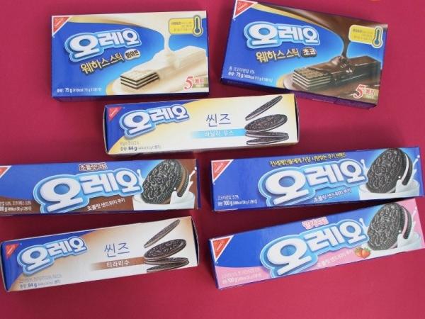 쿠키앤크림 좋아해? 오레오과자 모음!