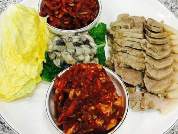 워너원이 추천하는 수요미식회 보쌈 맛집