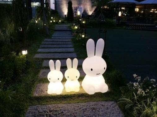 [스카이무역] 미피 토끼램프 LED수유등/무드등