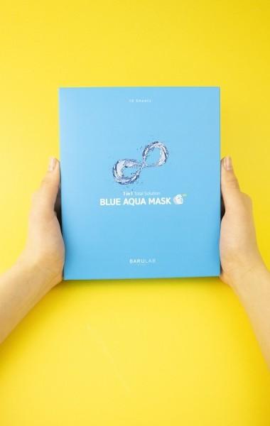바루랩 블루아쿠아마스크팩