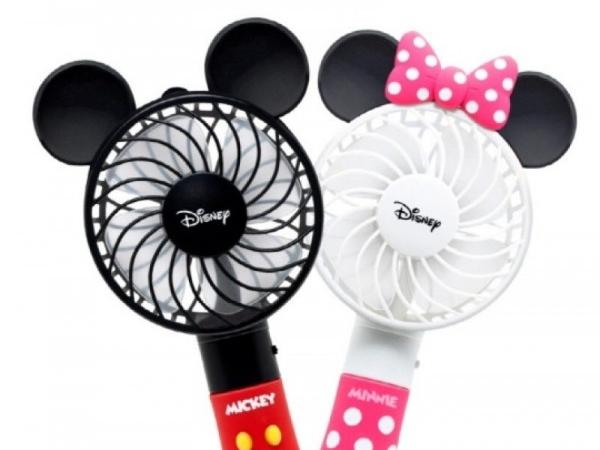 [아이컬러즈] 마블 디즈니 캐릭터 휴대용미니 손선풍기