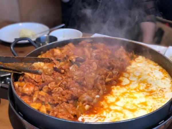 [분당] 오투닭갈비&부대찌개 서현점