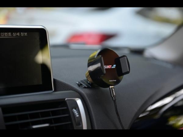 [에스엠전자] 슈키트 차량용 무선충전 거치대
