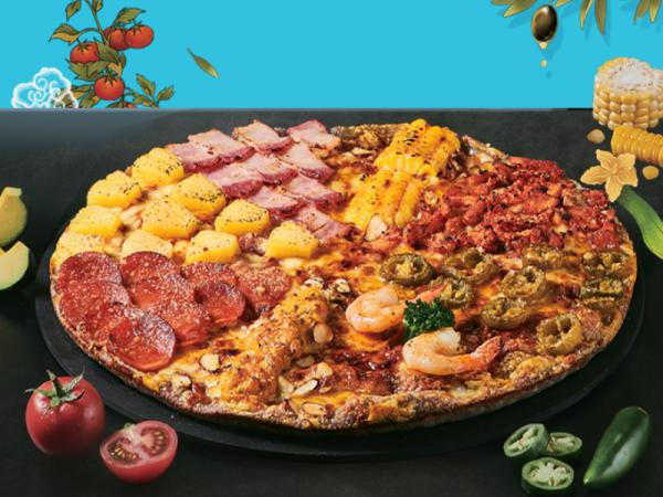 [쿠폰] 피자알볼로 신메뉴 팔자피자 이미지