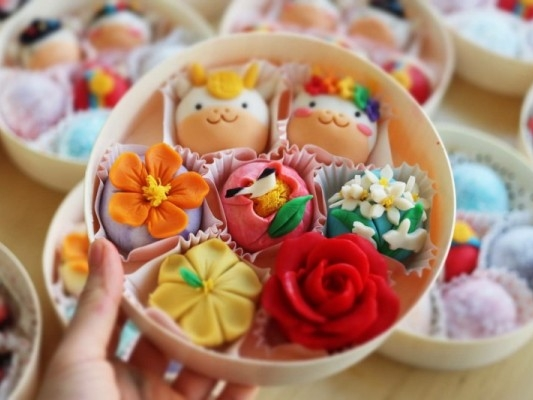 [오늘의다과] 화과자 선물세트