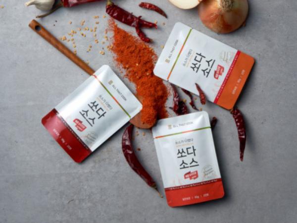 [위드인푸드] 매콤요리전용 만능소스 3종