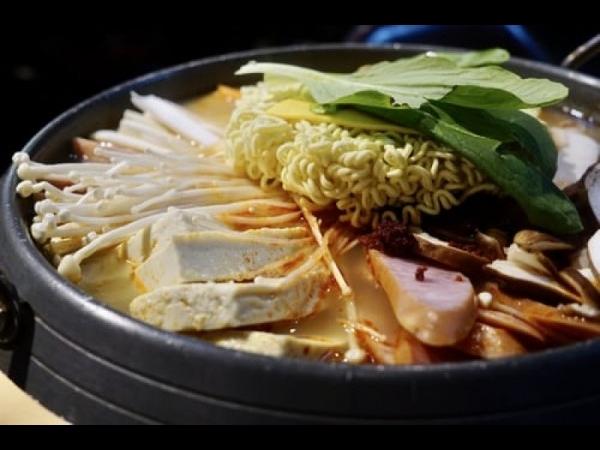 [충남 아산] 햄사리 가득 넣은 부대찌개