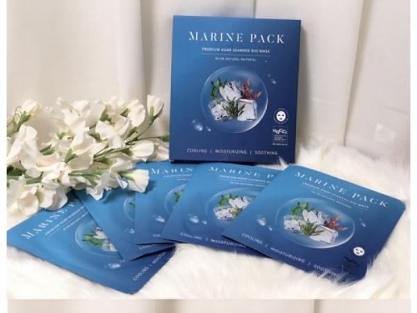[마린팩] 천연 해조류 하이드로겔 마스크팩