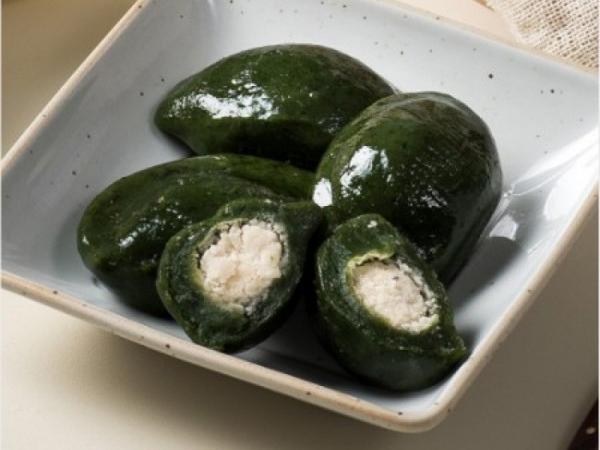 [한산모시식품] 서천한산 모시떡 모시송편+깨송편