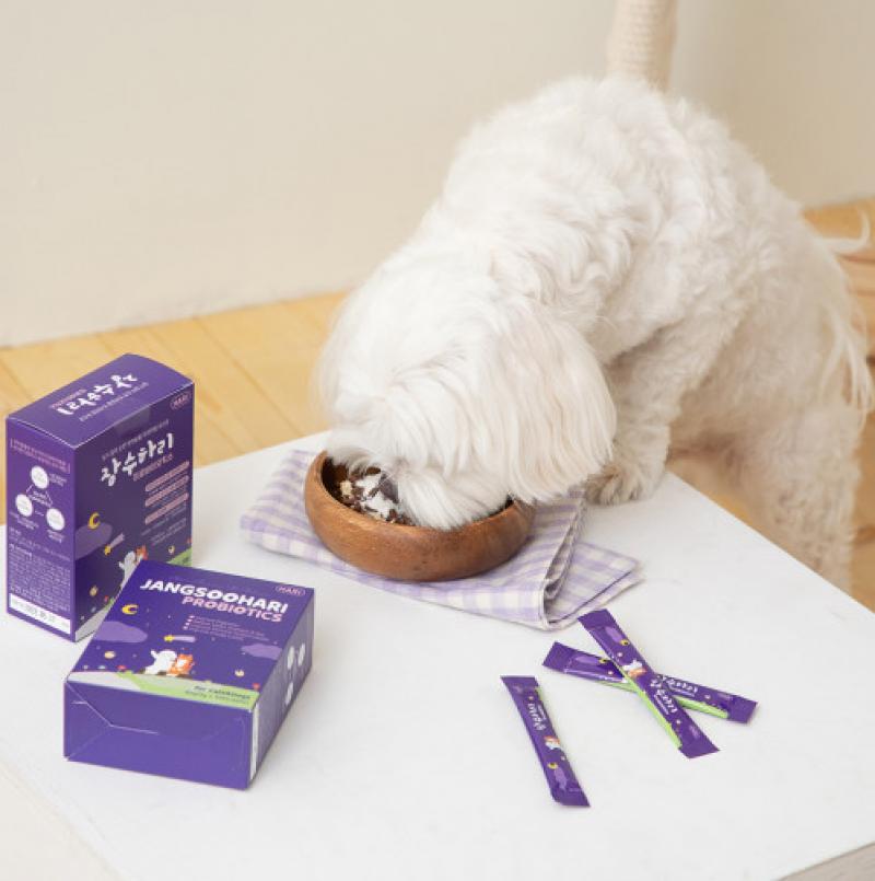 [하리] 강아지&고양이 유산균 장수하리 프로바이오틱스