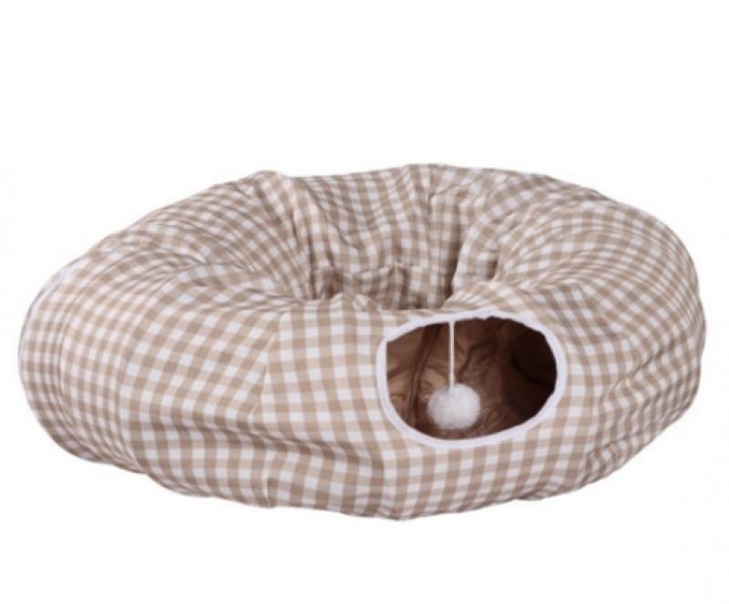 [카무라라_터널] 원형 도넛 동굴 방석 하우스 고양이 터널집
