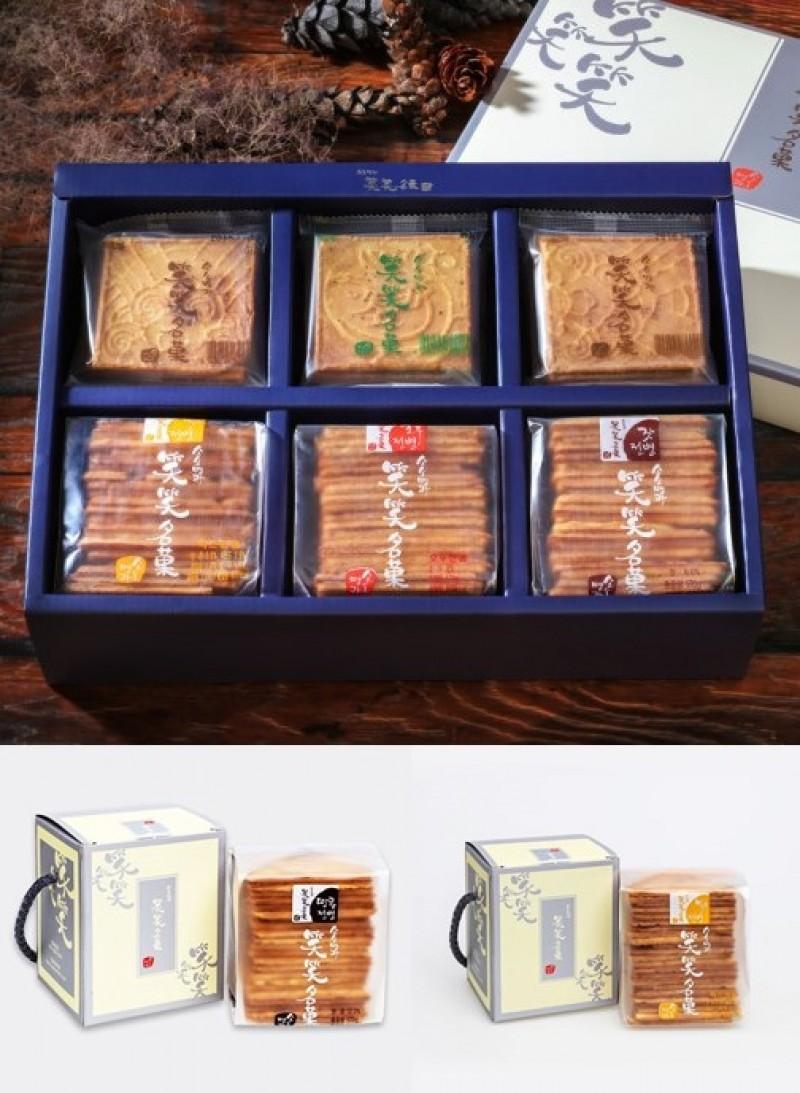 [소소명과] 명품선물2호 수제전병세트 + 소소명과 미니전병2종(땅콩,믹스미니)
